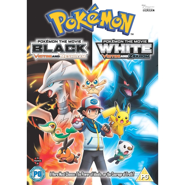 Pokemon Movie 14: Black & White - Victini and Zekrom/Victini and Reshiram DVD