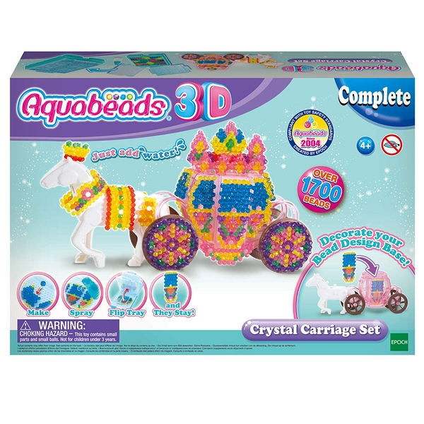 Aquabeads 3D Crystal Carriage Set