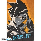 Overwatch - Tracer Cheers Luv - Poster Maxi Poster