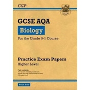 New Grade 9-1 GCSE Biology AQA Practice Papers: Higher Pack 2 by CGP Books (Paperback, 2017)