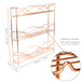 3 Tier Herb & Spice Rack | M&W Rose Gold - Image 3