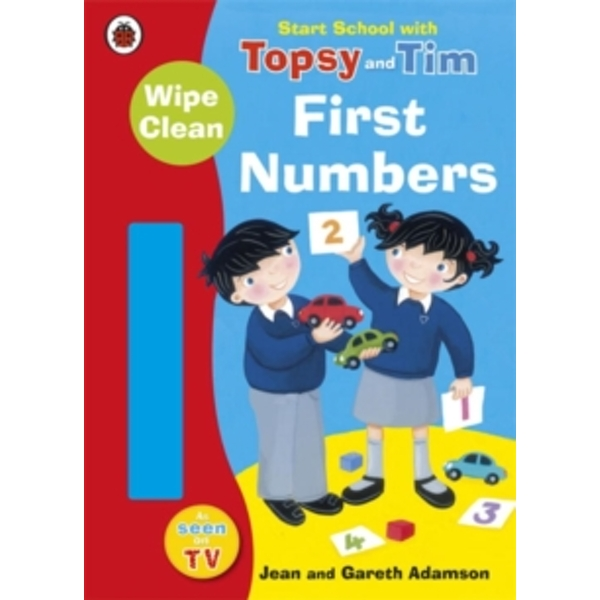Start School with Topsy and Tim: Wipe Clean First Numbers by Jean Adamson (Paperback, 2011)