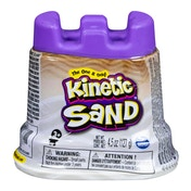 Kinetic Sand & Sand Castle Single Container - White