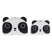 Sass & Belle Aiko Panda Kawaii Friends Suitcases (Set of 2)