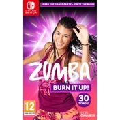 Zumba Burn It Up! Nintendo Switch Game