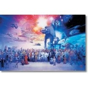 Star Wars Complete Cast Maxi Poster