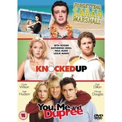 Forgetting Sarah Marshall  Knocked Up  You Me and Dupree DVD
