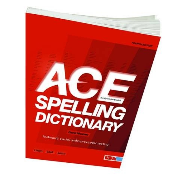 ACE Spelling Dictionary by David Moseley (Paperback, 2012)