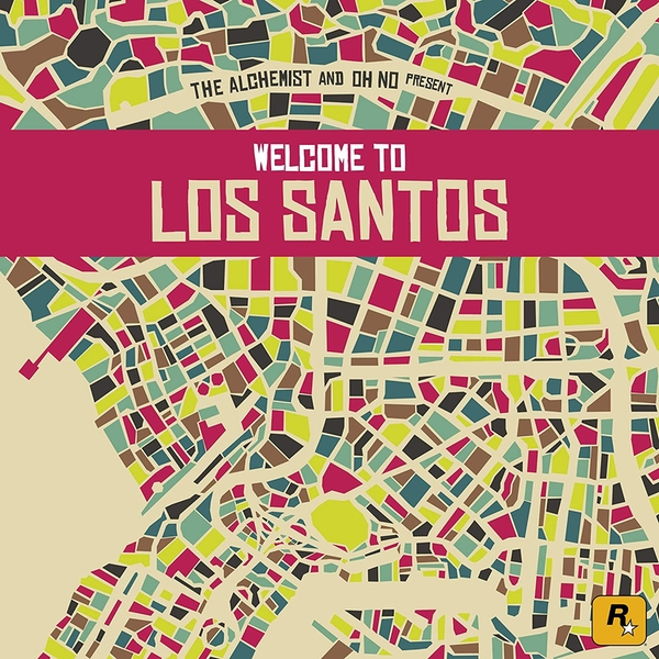 The Alchemist And Oh No - Welcome To Los Santos Vinyl