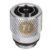 ThermalTake Pacific 3/8'' ID x 1/2'' OD (13/10mm) Compression Fitting - Chrome