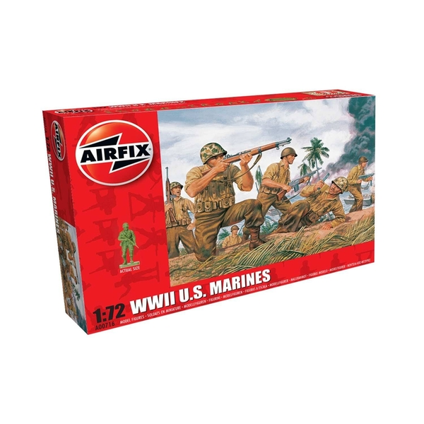 WWII US Marines Series 0 1:76 Air Fix Figures