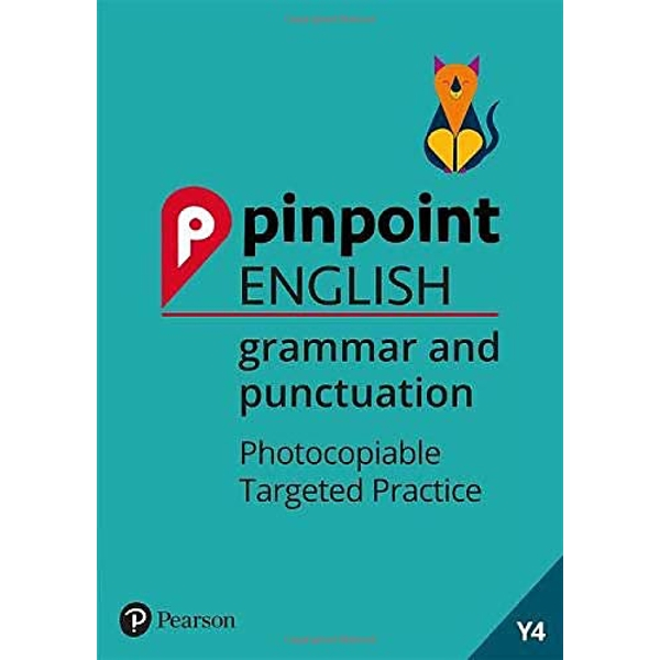 Pinpoint English Grammar and Punctuation Year 4 Photocopiable Targeted Practice Spiral bound 2018