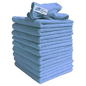 Exel Contract Microfibre Cloth Pack 10 Blue
