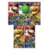 Super Mario Dog Tag Fun Packs CDU - Case of 24