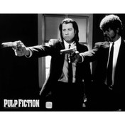 Neca - Pulp Fiction - B&w Guns Mini Poster