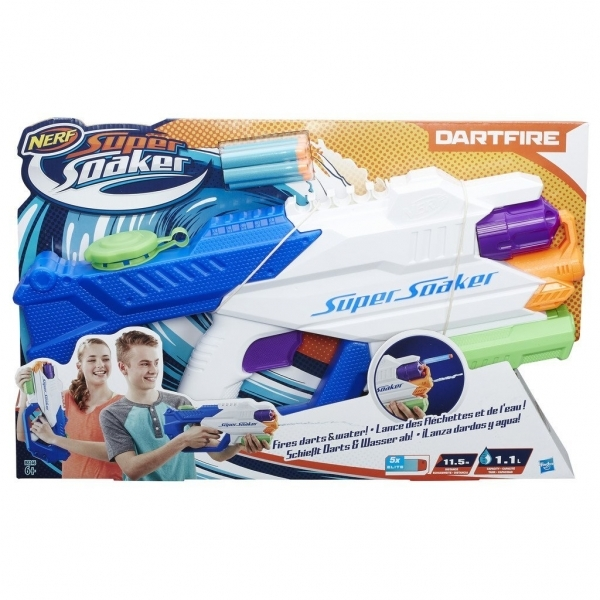 Ex-Display Nerf Super Soaker Dart Fire Used - Like New