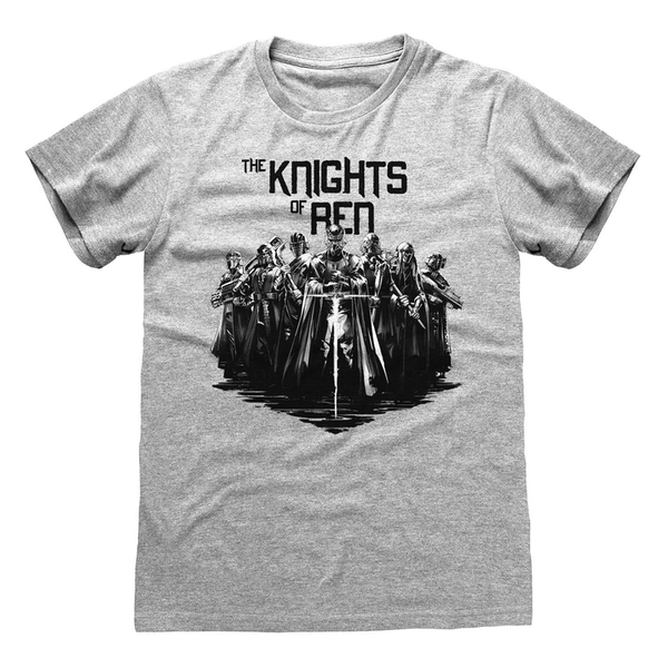Star Wars IX - Knights Of Ren Unisex Medium T-Shirt - Grey