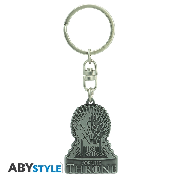 Game Of Thrones - For Thethrone Metal Keychain