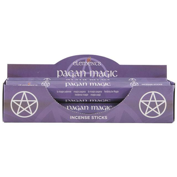 6 Packs of Elements Pagan Magic Incense Sticks