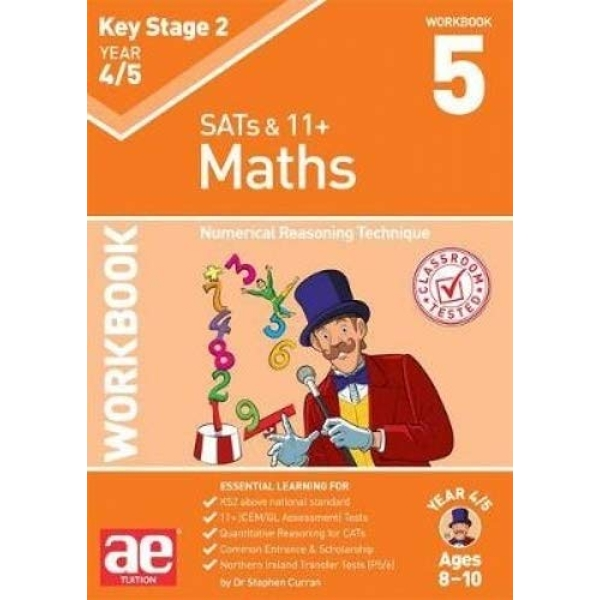 KS2 Maths Year 4/5 Workbook 5 Numerical Reasoning Technique Paperback / softback 2018