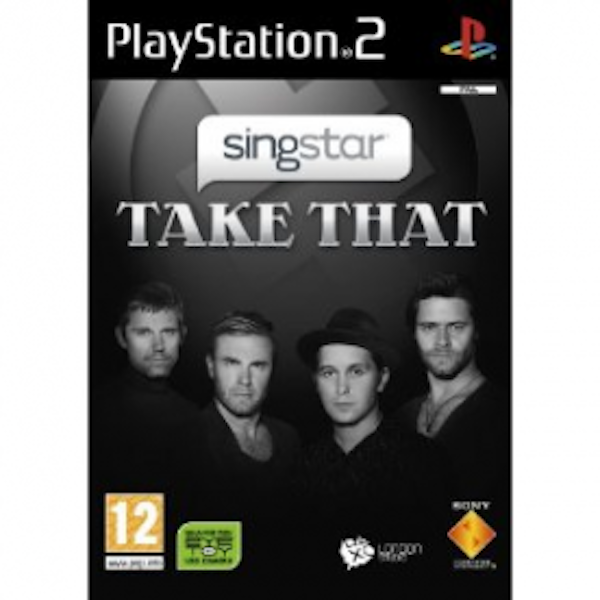 Singstar Take That Solus Game PS2