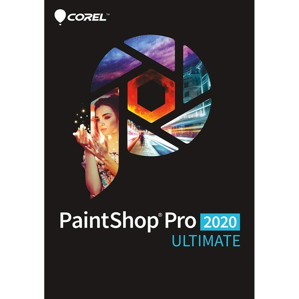 PaintShop Pro 2020 ULTIMATE Mini Box