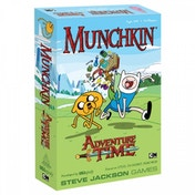Ex-Display Munchkin Adventure Time Card Game Used - Like New