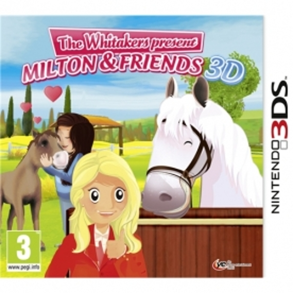 Riding Stables The Whitakers Present Milton And Friends Game 3DS