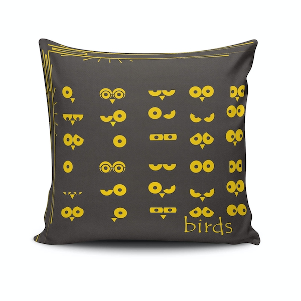 NKLF-297 Multicolor Cushion Cover
