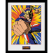 My Hero Academia All Might Action Framed Collector Print - Image 2