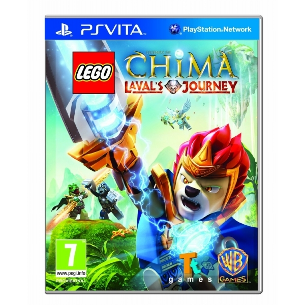 Image of LEGO Legends of Chima Laval's Journey Game PS Vita