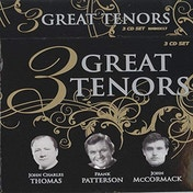 3 Great Tenors CD