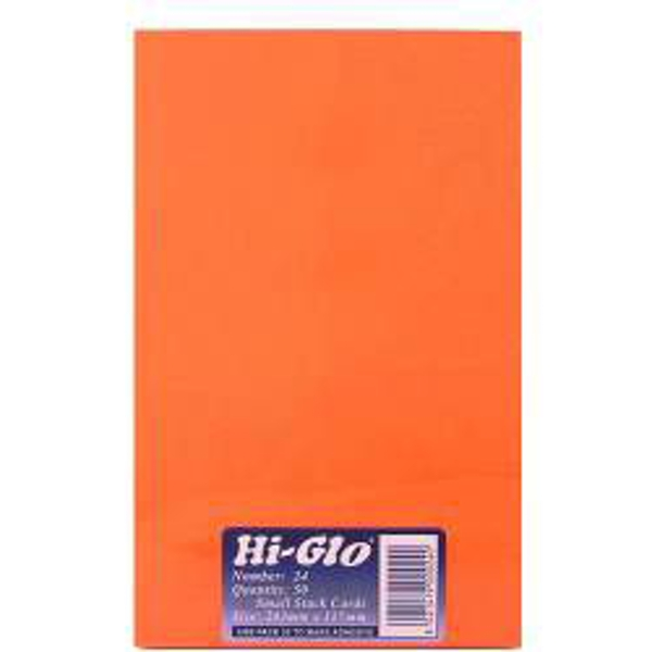 """Hi-Glo Cards (Pack of 50) 8' x 5"""""""
