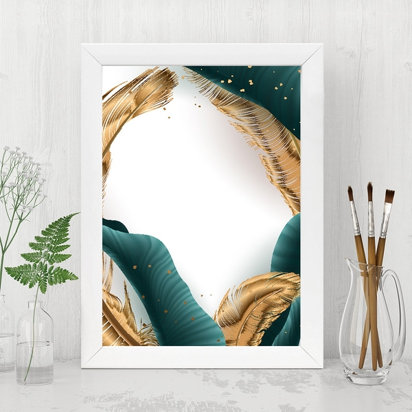 BC139479835723 Multicolor Decorative Framed MDF Painting