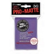 Ultra Pro Matte Purple 50 Sleeves DPD - 12 Packs