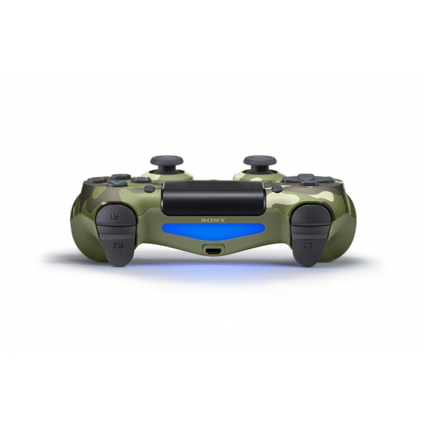 Sony Dualshock 4 V2 Green Camo Controller PS4 [Damaged]