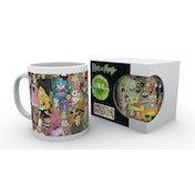 Rick and Morty Characters Mug