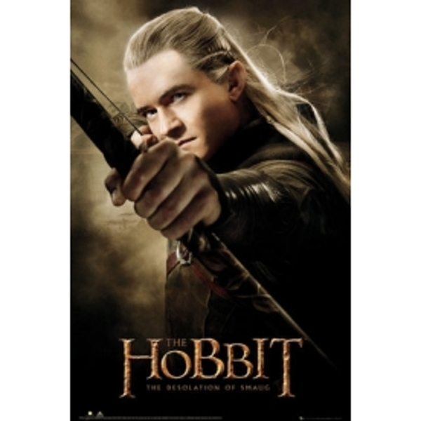 The Hobbit Desolation of Smaug Legolas Maxi Poster