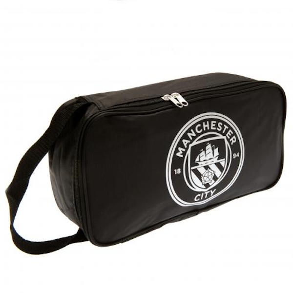 Manchester City FC Black Boot Bag