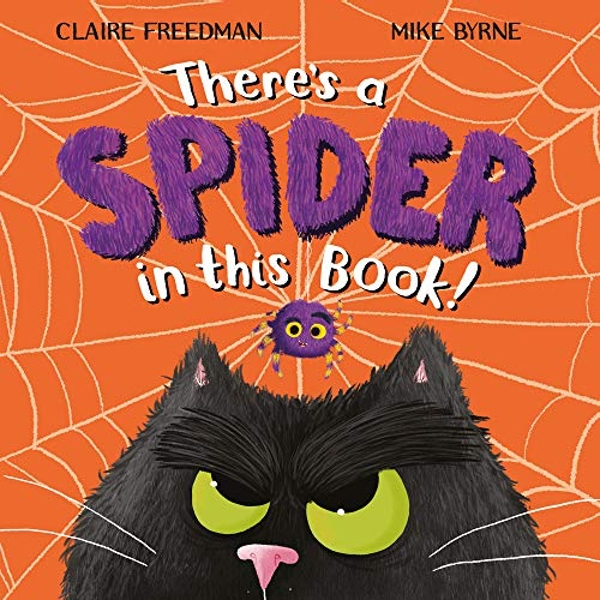 There's A Spider In This Book  Paperback / softback 2018