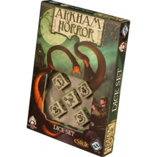 Arkham Horror Dice Set Bone