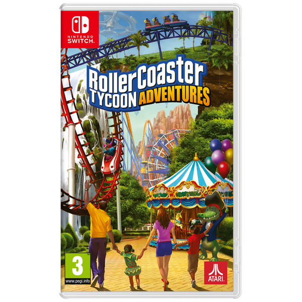 RollerCoaster Tycoon Adventure Nintendo Switch Game - Image 1