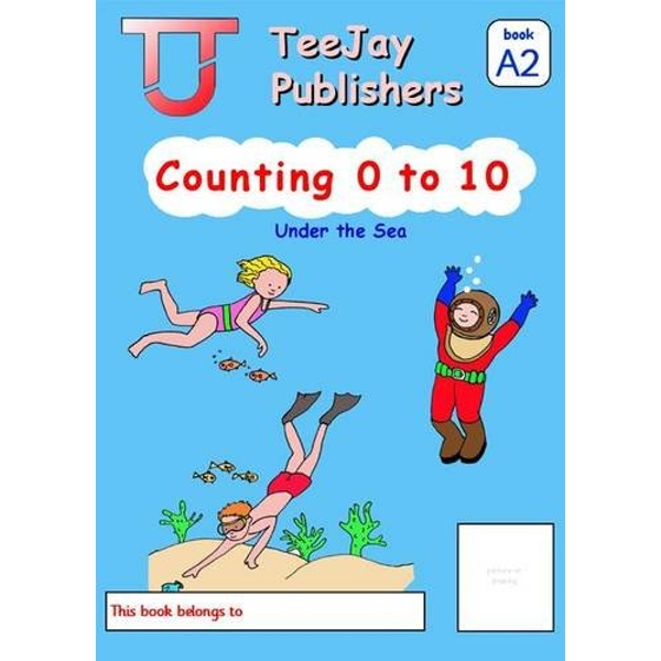 TeeJay Level A Maths: Bk.2: Counting 0 to 10 by James Geddes, Tom Strang (Paperback, 2008)