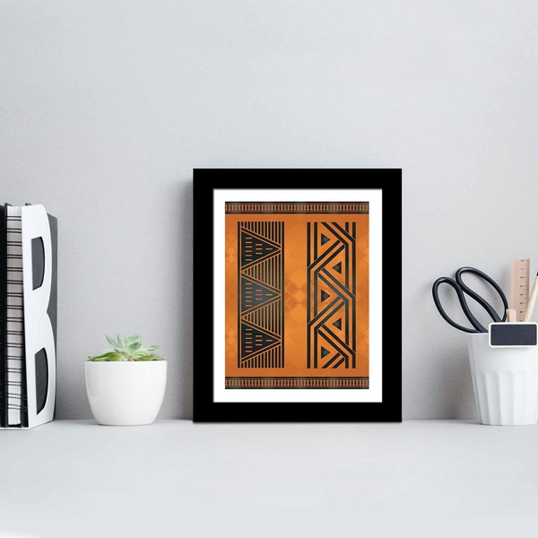 SCT-109 Multicolor Decorative Framed MDF Painting