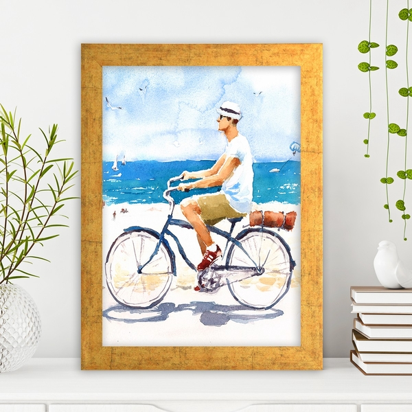 AC256185388 Multicolor Decorative Framed MDF Painting