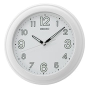 Seiko QXA721W LumiBrite Wall Clock with Large Numbers - White
