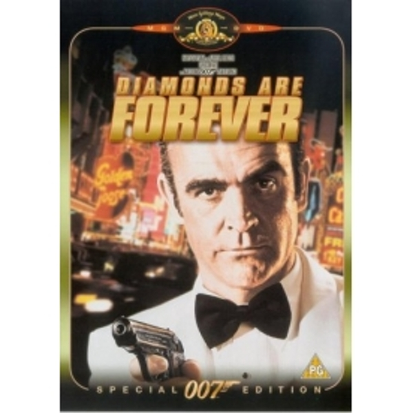 James Bond: Diamonds Are Forever DVD