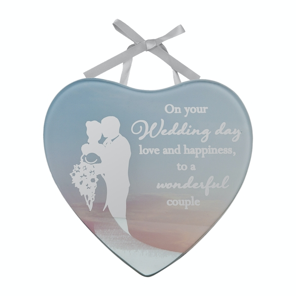 Reflections Of The Heart Mini Plaque Wedding Day
