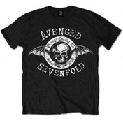 EXCL Avenged Sevenfold Origins Blk T Shirt: X Large