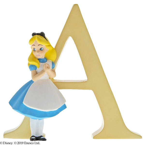 Alice (Alice In Wonderland) Letter A